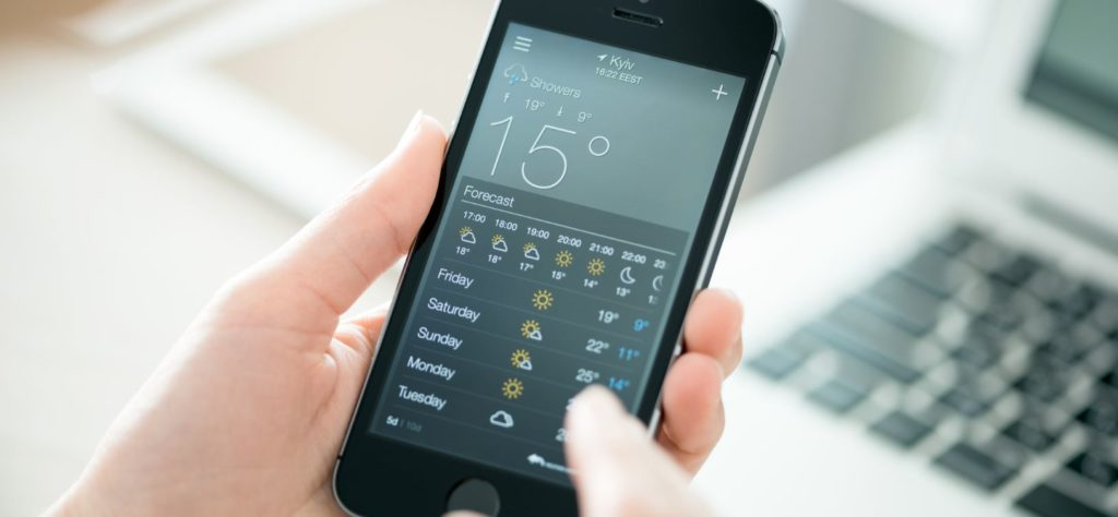 Android apps for checking on the weather | BBVA